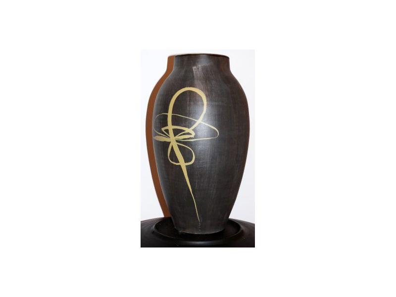 Japán írott váza :