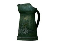 Zöld csőrös váza