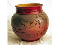 Inka gömbváza