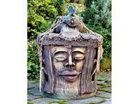 Indonéz szobor