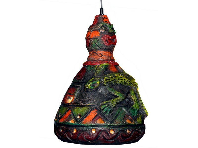 Leguános lámpa :