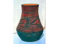 Antik indián váza