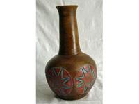 szögletes,napmintás egyszálas váza