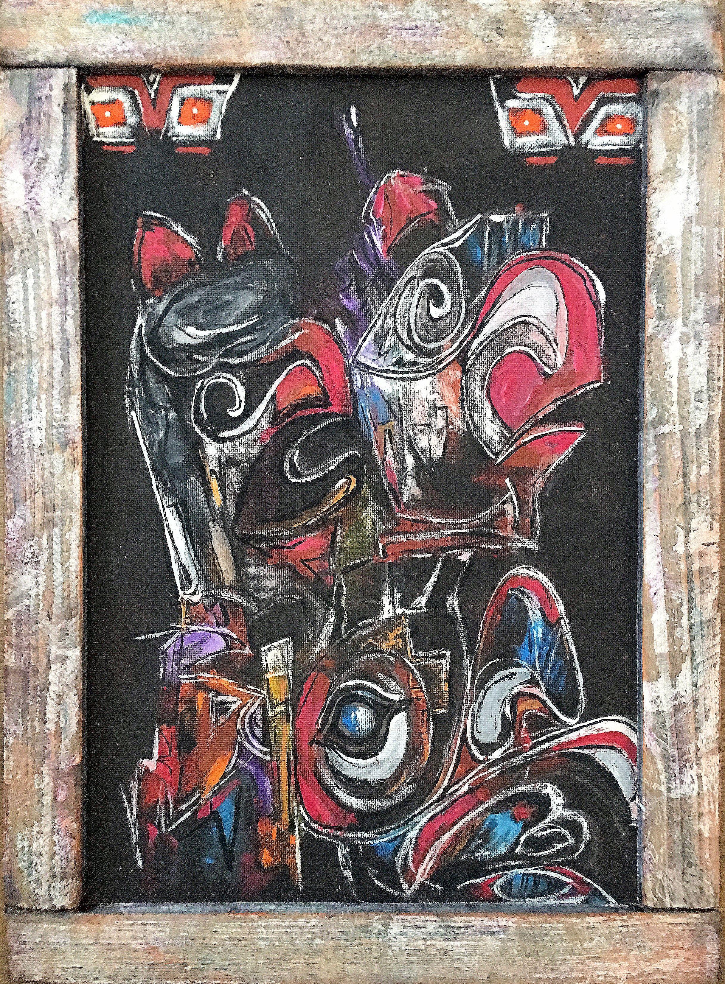 A indián maszkok2 :