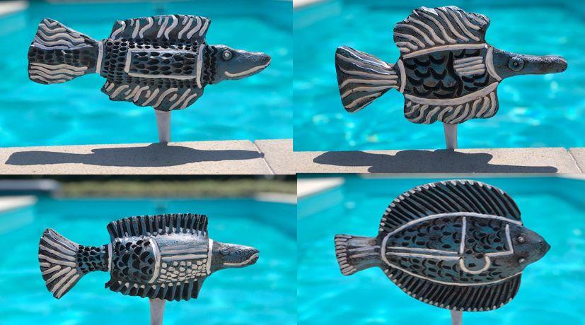 A halacskák 2 : egyedi szineket elképzeléseket is megvalósítok ... Medence , kerti tó , tavak , folyók közelében lévő helyeken dekoráció . vagy csakmert tetszik