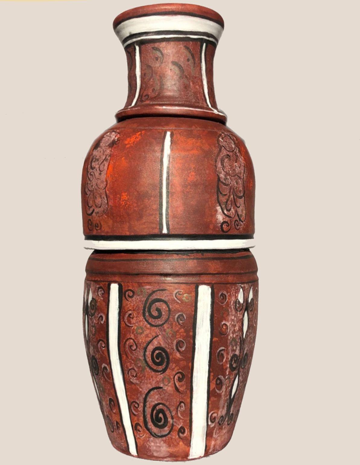 Rajzos váza :