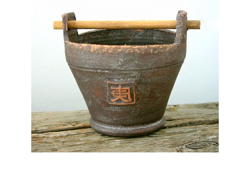 Füles bambuszos kaspó :