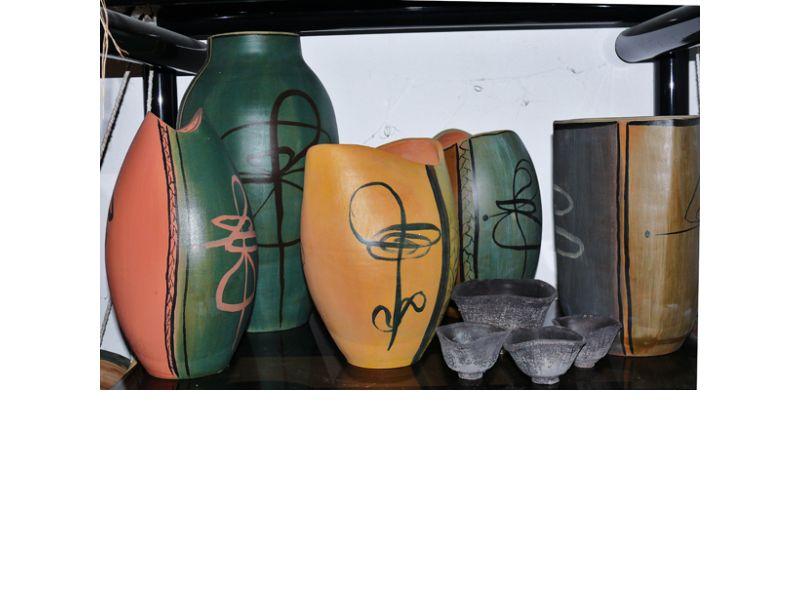 Modern japán vázák :