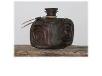 Szögletes japán váza