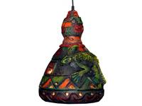 Leguános lámpa