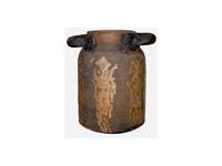 Kerámia Francia tejes bödön utánzat antik