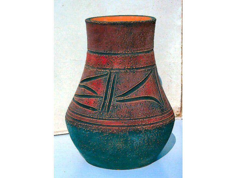 Antik indián váza :
