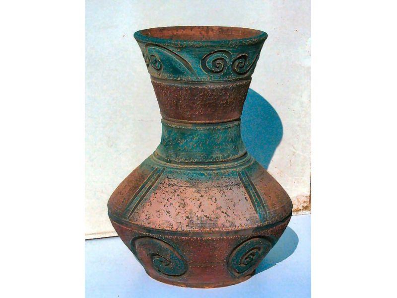 Inka mintás váza :