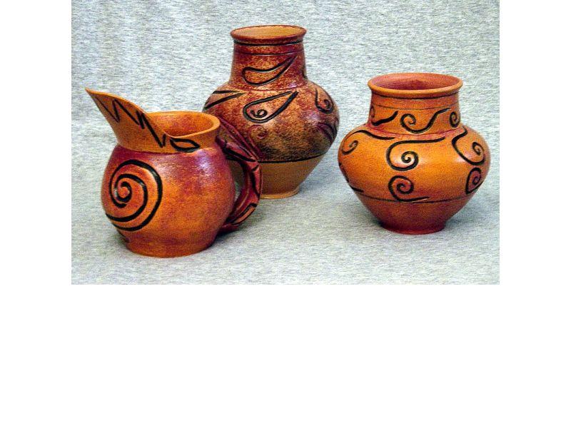 Vázák antikolva :