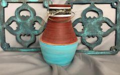 Mexikói türkíz váza
