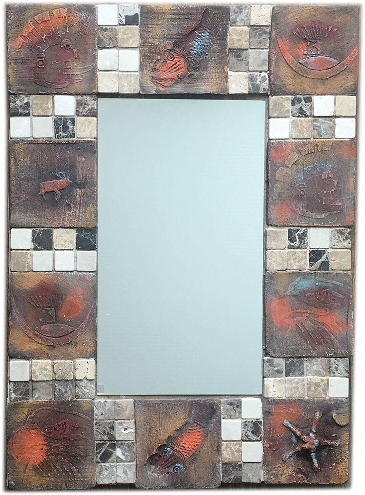 mozaik tükör :